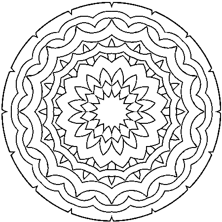 20 dessins de coloriage mandala imprimer gratuit imprimer. Black Bedroom Furniture Sets. Home Design Ideas