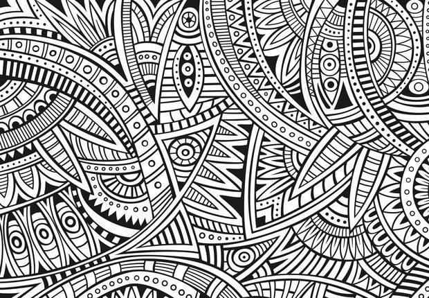 coloriage mandala adulte