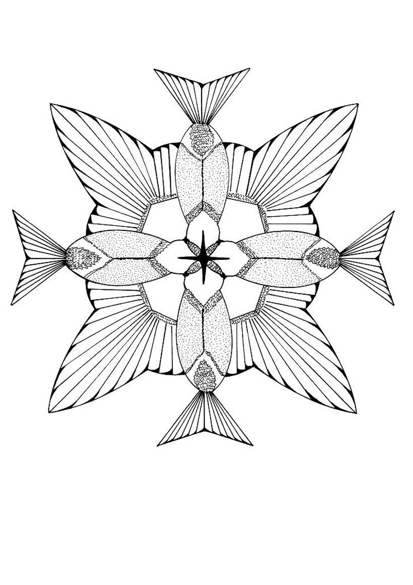 Desenhos Para Colorir De Mandalas De Animais   Melhores ...
