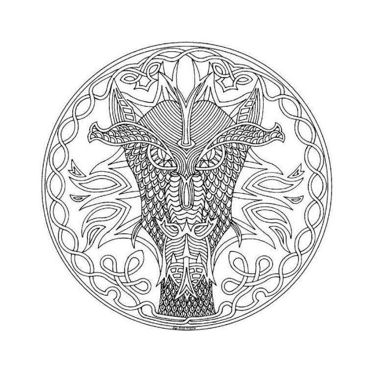 20 dessins de coloriage Mandala