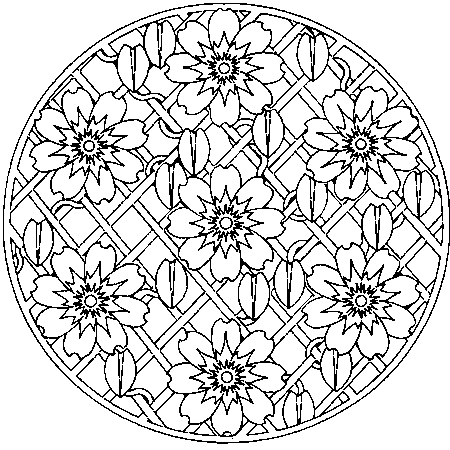 20 dessins de coloriage mandala en ligne imprimer - Mandala a imprimer gratuit ...