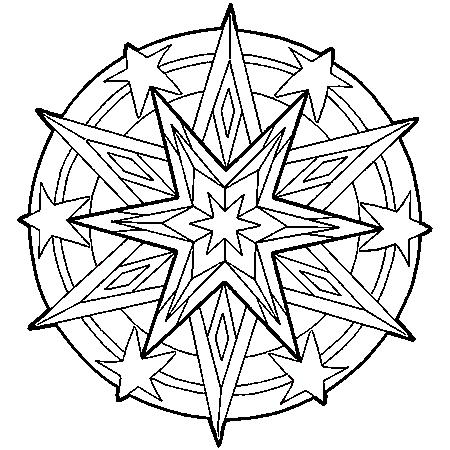 20 dessins de coloriage mandala en ligne imprimer - Magazine adulte en ligne ...