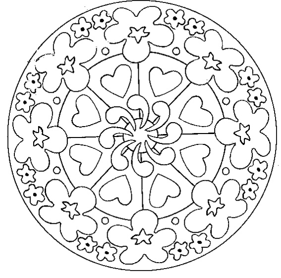 HD wallpapers coloriage mandala adulte a imprimer