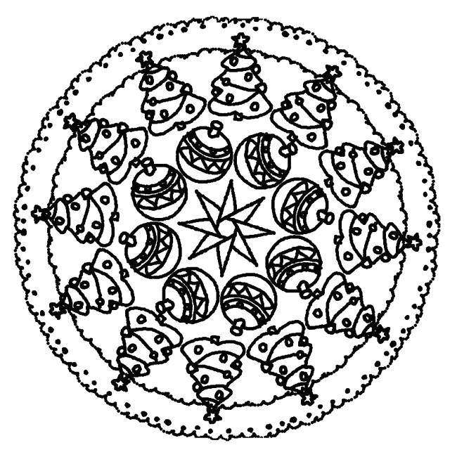 Coloriage Mandala Difficile De Noel.Awesome Coloriage Mandala De Noel Inspirant Coloriage Mandala De