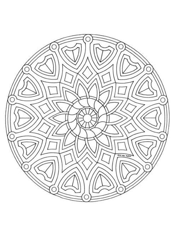 coloriages et mandalas cycle 1 mdi