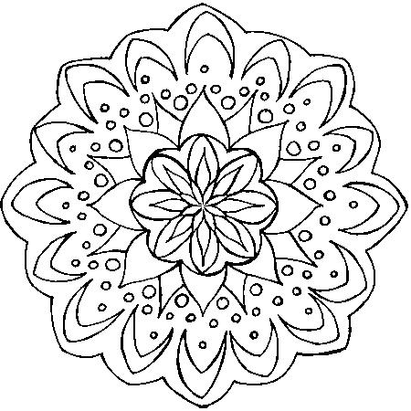 Coloriage Mandala Orque.Coloriage Mandala Orque