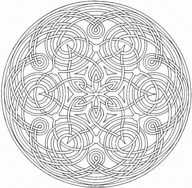 imprimer coloriage mandala gratuit. Black Bedroom Furniture Sets. Home Design Ideas