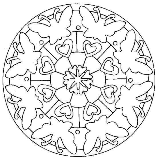 Coloriage Mandala Tortue A Imprimer.Coloriage Mandala Tortue