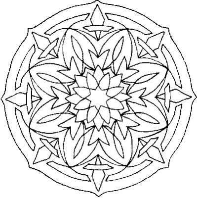 coloriage mandala musique