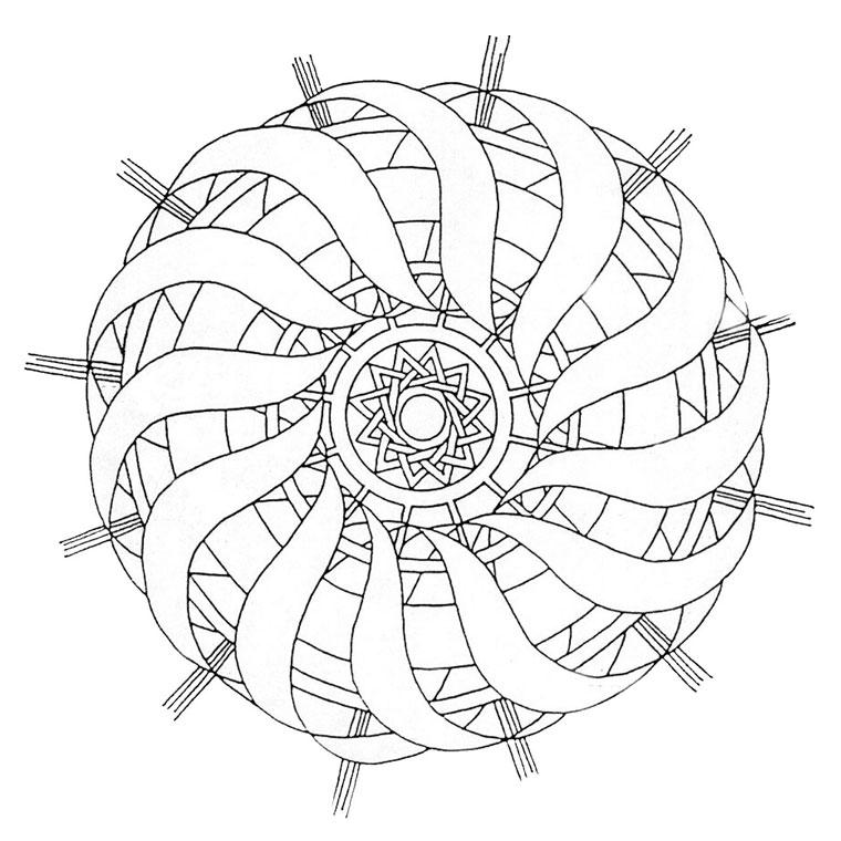 141 dessins de coloriage mandala imprimer - Coloriage de petshop a imprimer gratuit ...