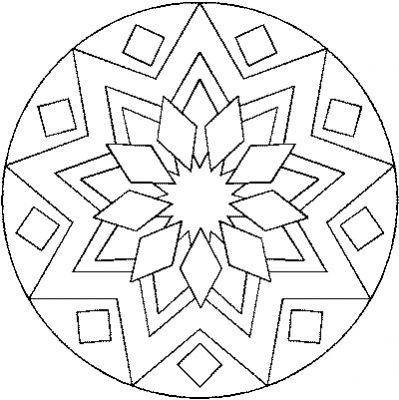 136 Dessins De Coloriage Mandala Imprimer