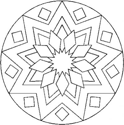Coloriage et mandala de noel - Imprimer coloriage mandala ...