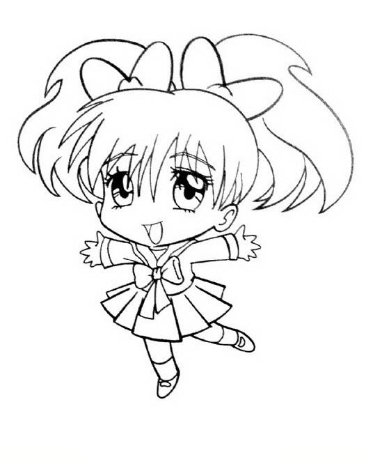 20 dessins de coloriage manga en ligne imprimer - Coloriages en lignes ...