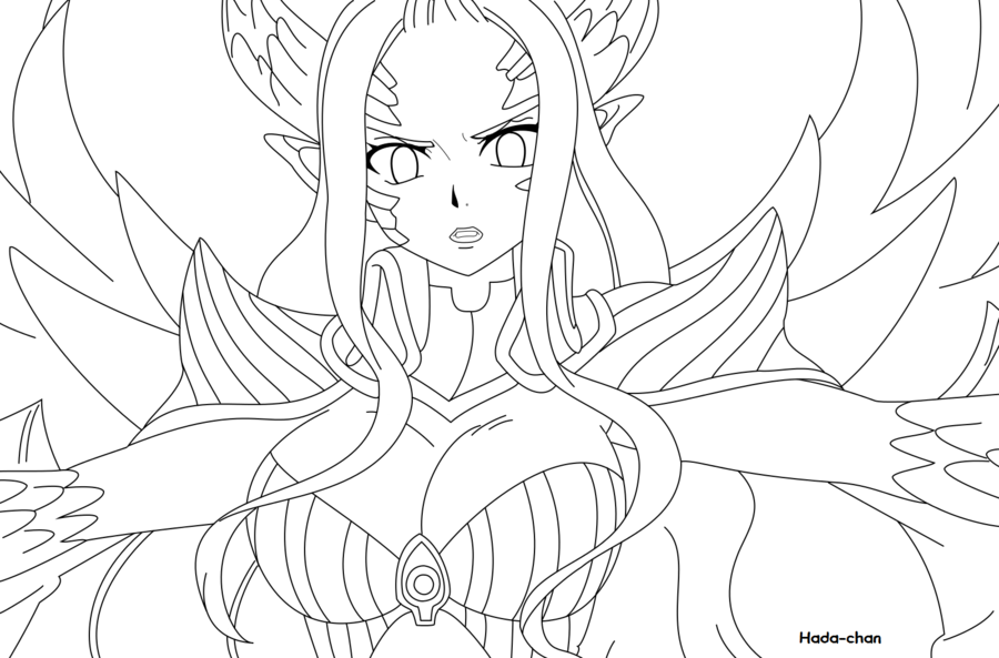 Fairy Tail Laxus Coloring Pages Coloring Pages