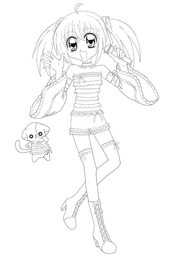 18 dessins de coloriage manga kilari imprimer - Dessin de manga a colorier ...