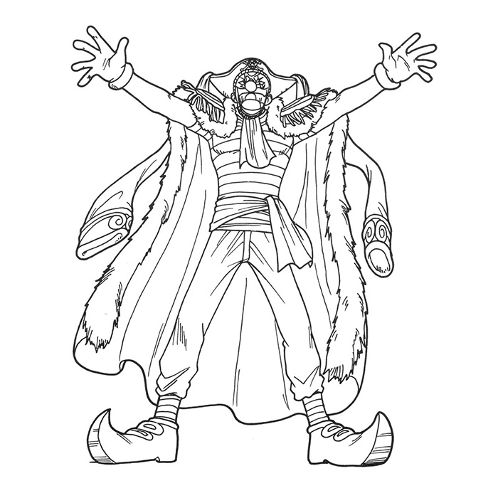 Coloriage Manga One Piece à imprimer