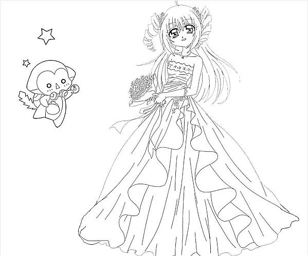 Robe De Princesse A Imprimer