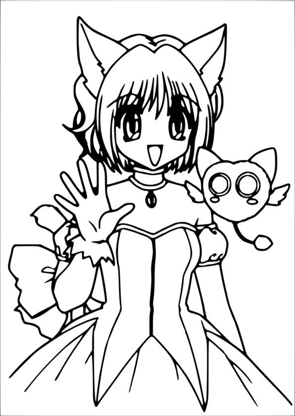 livre coloriage manga