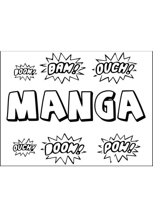 Coloriage mini manga - Manga adulte gratuit ...