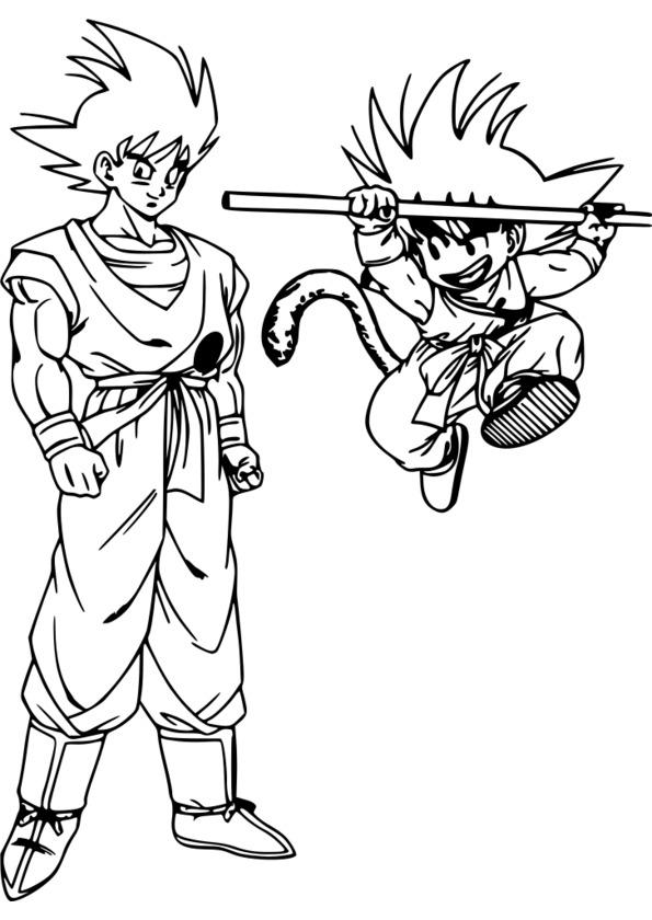coloriage manga elfe