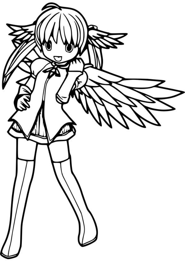 Tuto coloriage manga - Manga dessin a imprimer ...