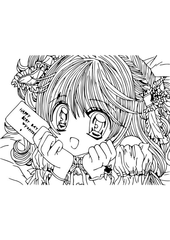 Coloriage manga difficile - Manga adulte gratuit ...