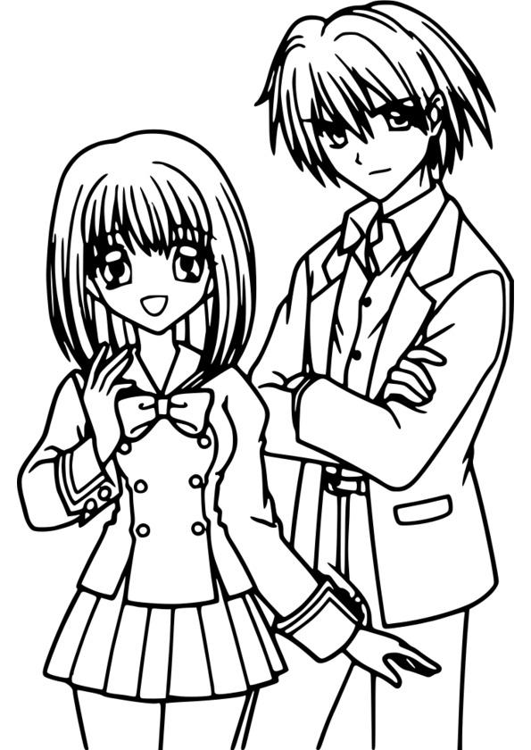 Coloriage Manga Kilari