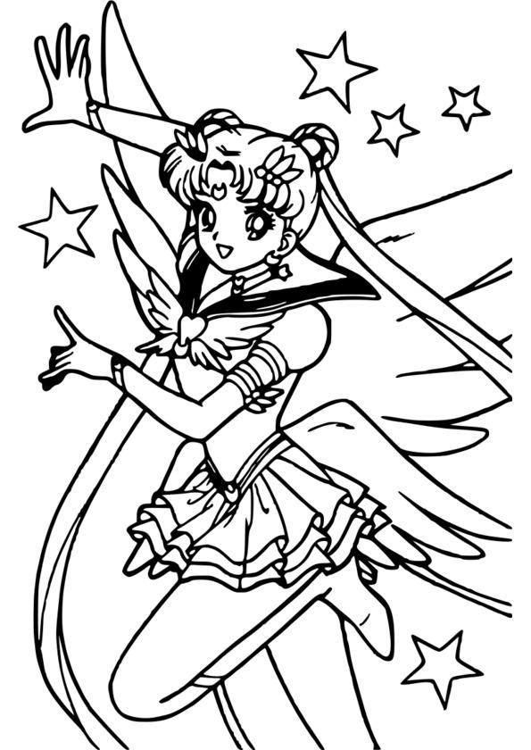 Coloriage mini manga - Manga dessin a imprimer ...