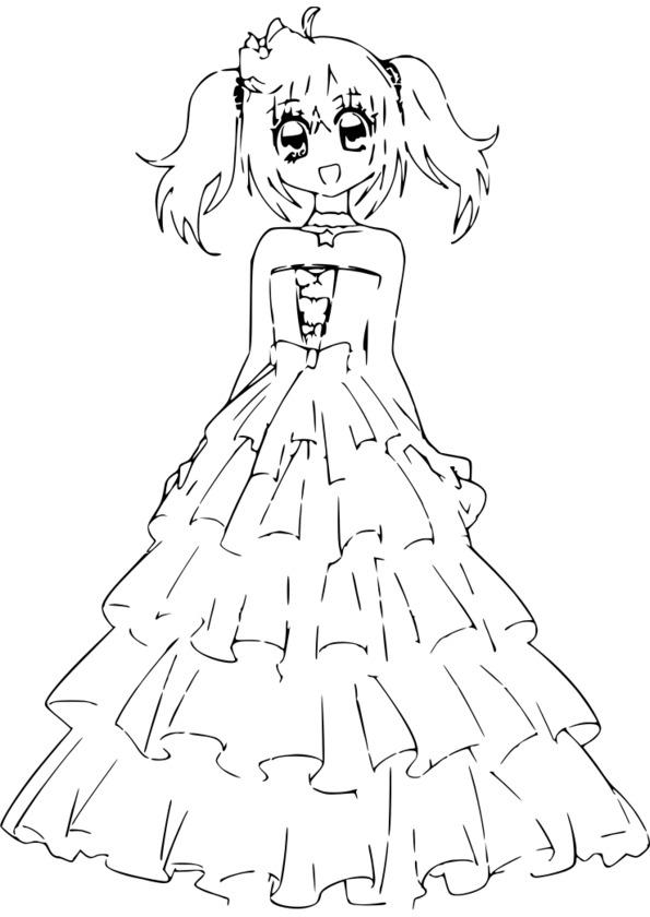 colorier un manga