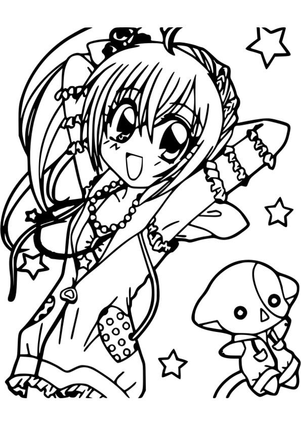 jeux coloriage manga