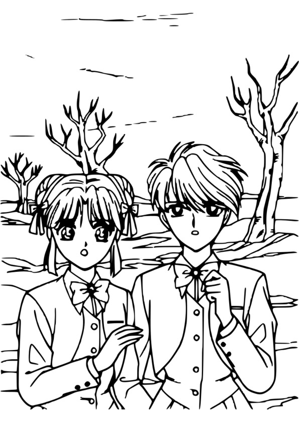 Tuto coloriage manga - Dessin de manga a colorier ...