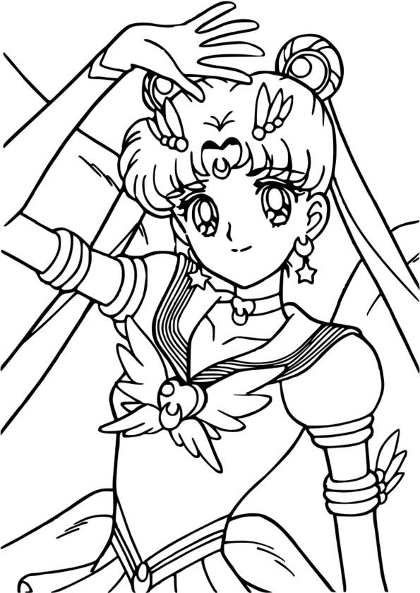 coloriage manga noir et blanc