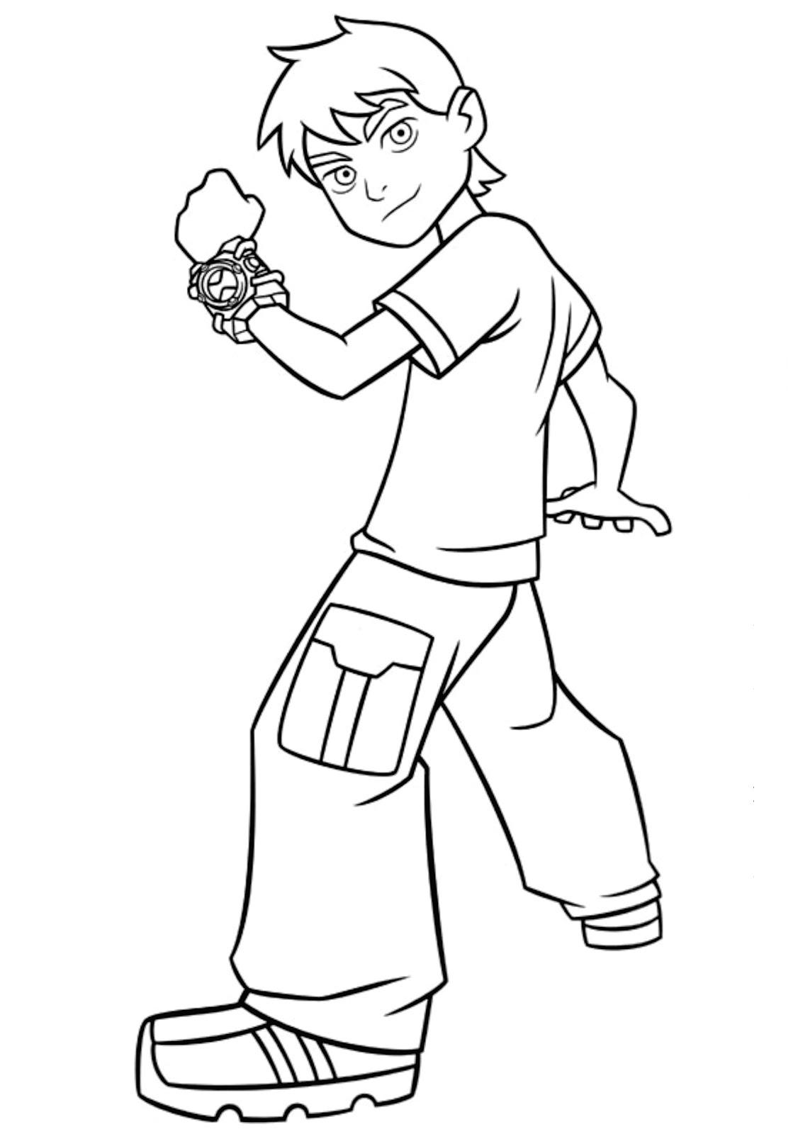 coloriage � dessiner marcelino gratuit
