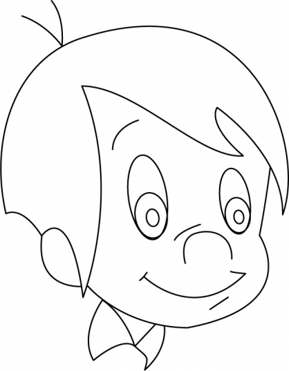 dessin � colorier marcelino a imprimer