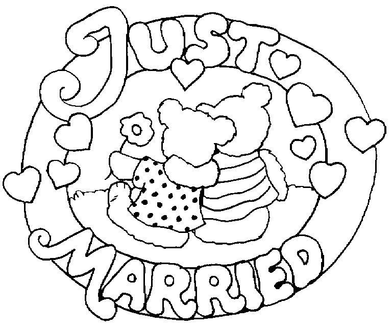 livret dessin à colorier mariage pdf
