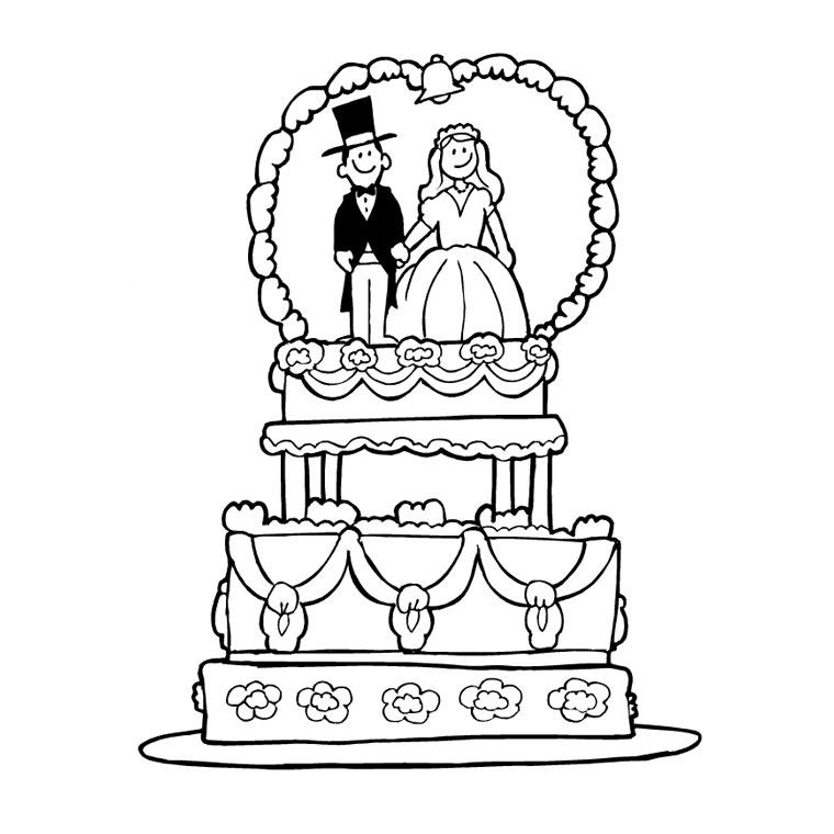 cahier dessin mariage à imprimer