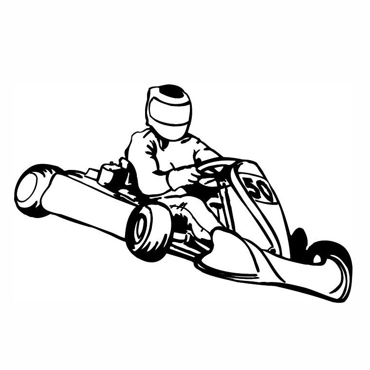 dessin à colorier mario kart 7