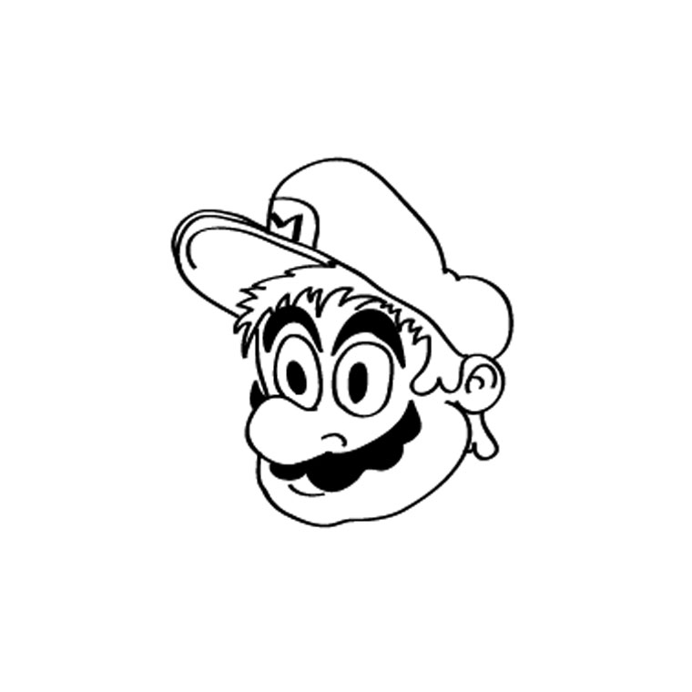 coloriage à dessiner super mario 3d world
