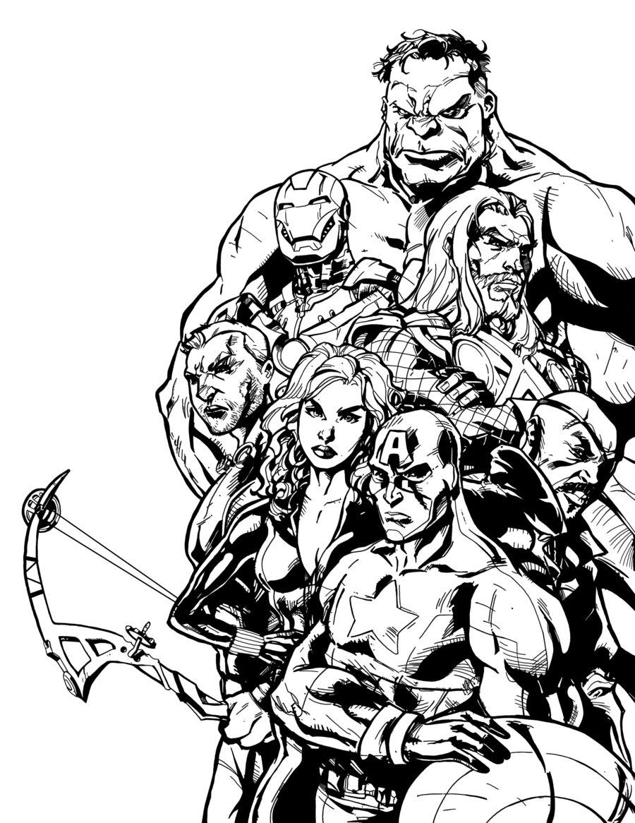 dessin colorier heros marvel a imprimer with coloriage marvel - Marvel Coloriage