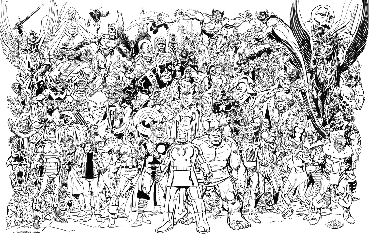 22 dessins de coloriage marvel imprimer - Coloriage dc comics ...