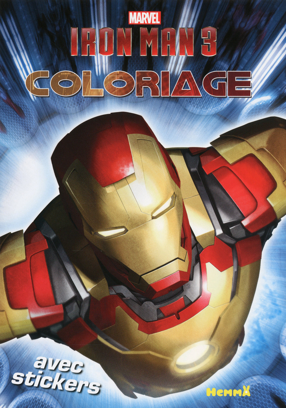 coloriage à dessiner marvel super-heros
