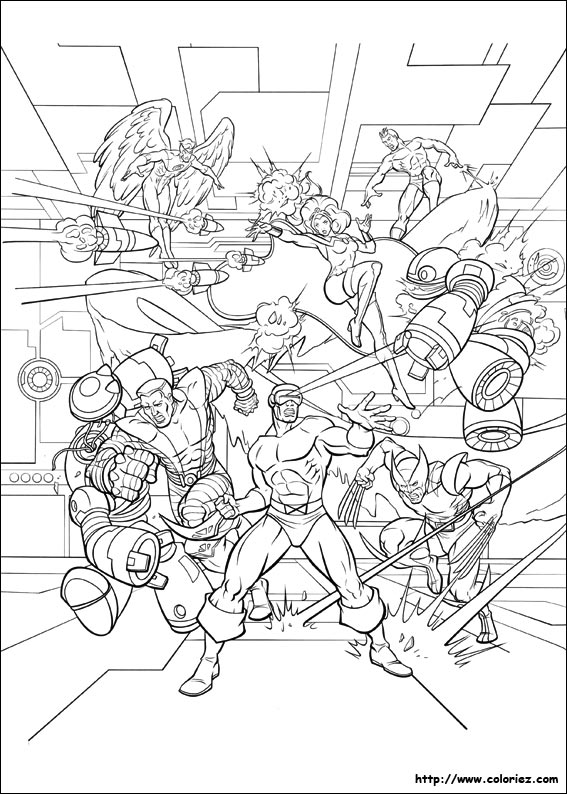coloriage à dessiner lego marvel super heroes