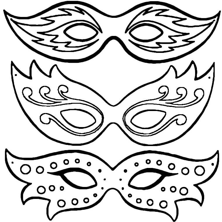 Dessin masque renard - Masque de renard a imprimer ...