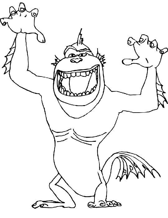 dessin matt et les monstres