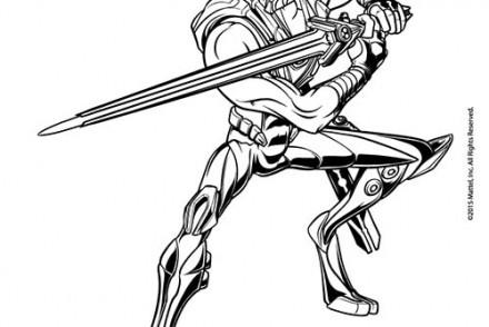 dessin de max steel