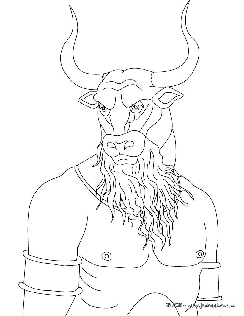18 dessins de coloriage m duse mythologie imprimer - Comment dessiner ulysse ...