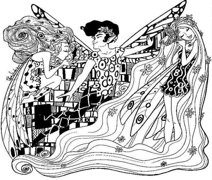 dessin mia et le migou à imprimer