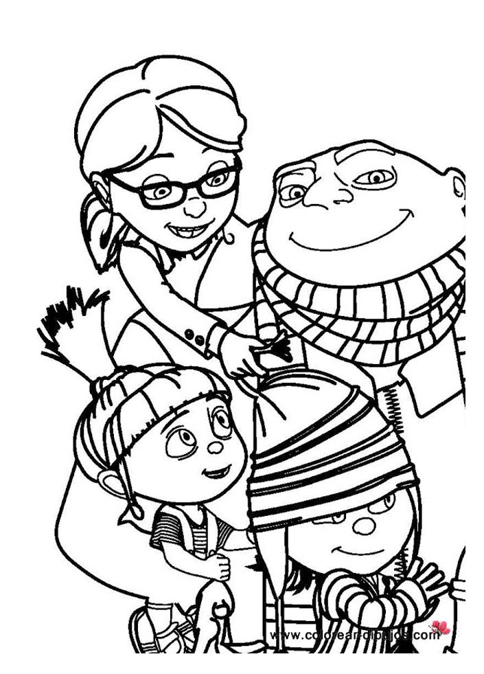coloriage à dessiner gratuit à imprimer mia et moi