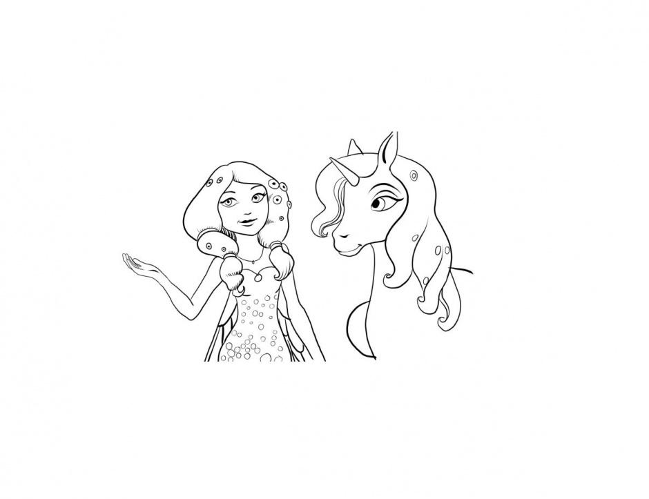 jeux dessin de mia et moi