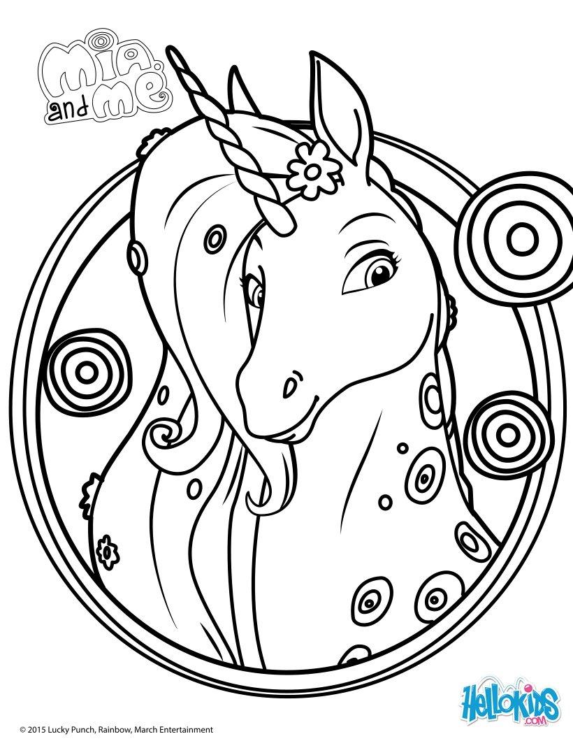 15 dessins de coloriage mia et onchao imprimer - Coloriage prin ...
